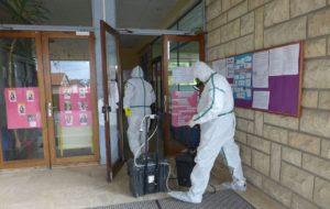presence of asbestos
